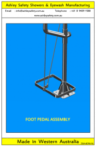 Foot Pedal Assembly