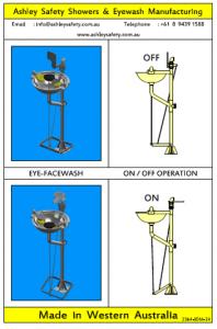 Eye/Face-wash Operation